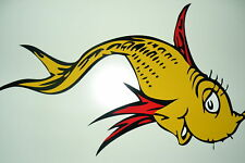 Red & Yellow Fish for bathroom walls NEW themed kids