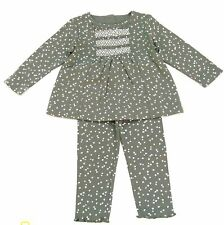 new NWT GYMBOREE girls PENGUIN CHALET 100% Cotton Gray l/sSwing Top w/ Leggings