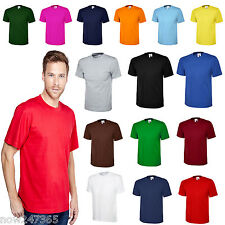 Mens Plain T-Shirt Size XS to 6XL 100% Cotton Soft Premium Classic Fit