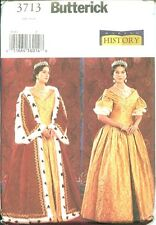 Butterick 3713 Queen Gown & Robe Costume Pattern