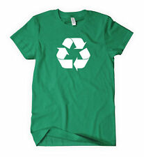 RECYCLE Logo t-shirt sign Environment Earth Green