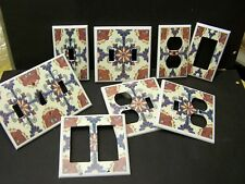MEXICAN TALAVERA TILE #26 IMAGE LIGHT SWITCH COVER PLATE PLASTIC