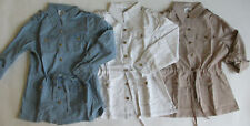 New OSO CASUALS Beige,White or Blue safari jacket w convertible sleeves,S,M,XL