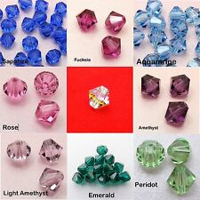 20 Genuine SWAROVSKI Crystal BICONE / Xilion BEADS 3mm ~CLEAR AB or PICK Color~