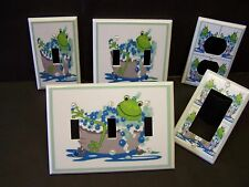 FROG  BATHTUB  BATHROOM  LIGHT SWITCH OR OUTLET COVER