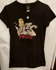 "LUCKY 13/FELON - T-SHIRT -*&%^ GET STITCHES - JUNIORS  -""M"" -  NEW***"