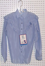 Miss Rodeo America LADIES WESTERN show SHIRT RETRO/VINTAGE *NEW Rodeo Barrel 24