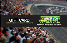NASCAR.COM Superstore Gift Card $25 - $50