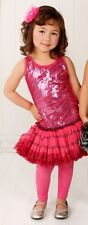 OOH LA LA COUTURE DESIGNER PINK ZEBRA SEQUIN PARTY OR SPECIAL OCCASION  DRESS