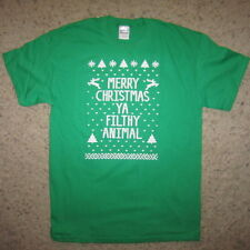 ugly christmas sweater new t shirt funny text vintage humor contest winner merry