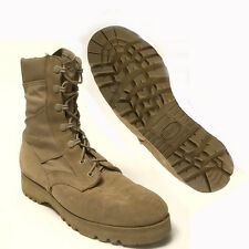 US ARMY Tan Desert Combat Boots, Low Mileage - Great Shape - Many Sizes in Stock