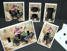 ATV 4 WHEELER  EXTREME SPORTS #2  LIGHT SWITCH OR OUTLET COVER