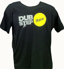 AVIT - iRAVE DUBSTEP - T SHIRT - BLACK WITH GREY TEXT
