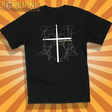 """NEW KERUSSO """" Stick with Jesus! """" ADULT CHRISTIAN T-SHIRT     Drums Music Rock"""