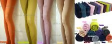 Quality Winter Warn Coloured Cotton Tights-(11 Colours) -04681