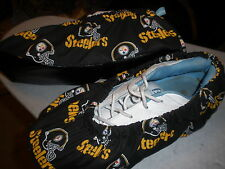PITTSBURG STEELERS BOWLING SHOE COVERS-MED, LG OR XL