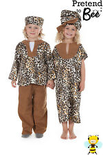 Girls Kids Childrens African Lady Multicultural Educational Fancy Dress Costume