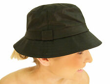 Campbell Cooper Brand New Wax Cotton Country wear Bush Hat Olive Green S M L XL