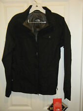 The North Face Womens Tessa Paclite Jacket Black Rain Coat NWT