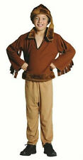 FRONTIER BOY CHILD COSTUME DAVEY DAVY CROCKETT PIONEER DANIEL BOONE KIDS WESTERN