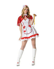 Sexy Caped Nurse Halloween Costume Dress Adult  Woman 81639