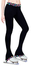 Ice Figure Skating Dress Practice Pants Trousers Leggings -  Fire Fly