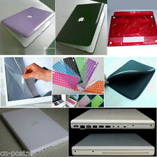 Glossy Hard Case Cover Skin Protector Bag 4in1 Apple OLD White MacBook 13 A1181