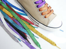 SHOE / TRAINER - GLITTER LACES - NEW - TRUSTED UK SELLER - FAST POSTAGE!!