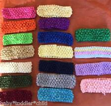 Wholesale Baby Toddler Girls Crochet Headband any colour x 12 you choose colours