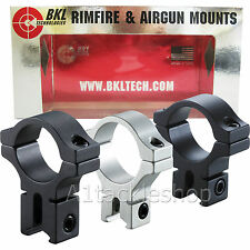 "BKL Series 257/257H Air Rifle/Gun/Rimfire Mounts 2 Piece 1"" 9-11mm Scope Mount"