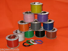 3m x  Multi strand equipment cable wire 1.4 amp  pick & mix colours layout wire