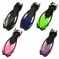 Wave Snorkeling Diving Swimming SCUBA Freediving Dive Fins by Promate NEW