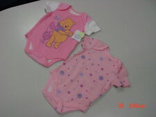 NWT Infant Girls Disney 2 Piece Creepers Pooh and Piglet Pinks Best Pals Baby
