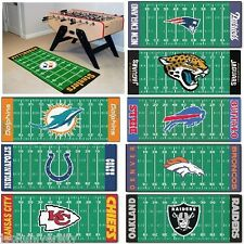 "NFL (AFC Teams) -  Football Field Runner Area Floor Rug Mat  30"" X 72"""