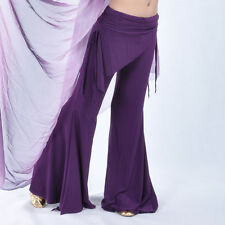 Tribal Belly Dance Pants Attached Skirt 9colours Avail.