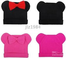 Girls Toddlers Mickey Mouse hat RED BLACK PINK