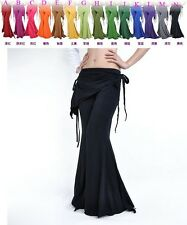 【Sale】Tribal Belly Dance Pants Attached Skirt 14Colors