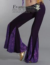 Tribal Yoga Belly Dance Pants Fishtail 10Colours IN
