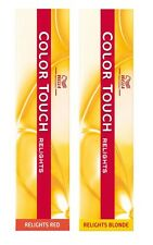 Wella Color Touch Semi-Permanent Hair colour / Tint - Relights  - 60ml Tubes