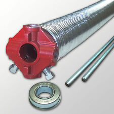 """One - .234 Garage Door Torsion Spring- 2"""" ID - Up to 36"""" in length- Galvanized"""