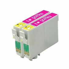 2 Light Magenta Ink Cartridges non-OEM to replace T0806 Compatible for Printers