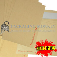 BOARD BACK BACKED ENVELOPES C3 C4 C5 C6 *ALL SIZES*
