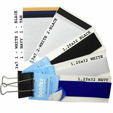 NO-SEW IRON-ON FABRIC MENDING TAPE BONDEX REPAIR PATCHES SELECT COLOR