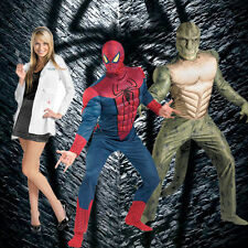 Adult Marvel Comics Movie The Amazing Spider-man Muscle DLX Lizard Gwen Costume