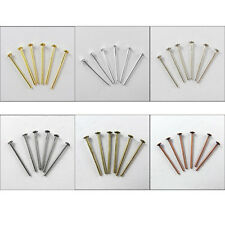 16mm-50mm 21g Head Pin Finding Gold,Silver,Dull SIlver Bronze,Copper,Black Plt
