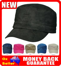 Mens / Ladies / Kids Cotton Adjustable Military Army Caps / Hats - ch46