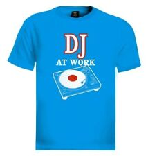 DJ at Work T-Shirt Mixer music headphones party disco turntables