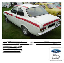 Ford Escort Mk1 Mexico Stripe Kit Decals Stickers RS GT AVO Stripes