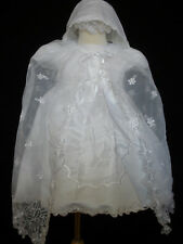 New Infant Girl & Toddler Christening Baptism Formal Dress New Born to 24 months