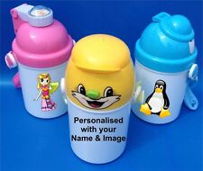 Personalised Kids Drinks Bottle/Cup Available in 3 Colours